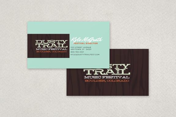 Music festival business card template inkd music festival business card template colourmoves