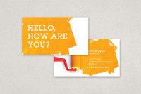 Paint Roller Maintenance Business Card Template