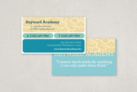 Modern Education Business Card Template