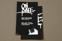 Urban Streetwear Business Card Template