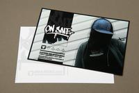 Urban Streetwear Postcard Template