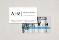 Classic Law Firm Business Card Template