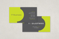 Bright Tech Business Card Template