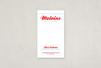 Old-Fashioned Diner Business Card Template