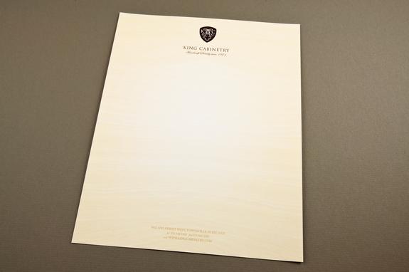 Elegant Cabinetry Letterhead Template | Inkd