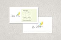 Eco Technology Consulting Business Card Template