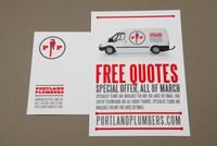 Plumbing Service Postcard  Template