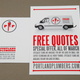 Automotive Repair Service Flyer Template