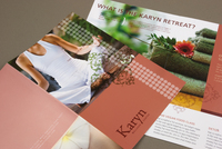 Wellness Center Brochure Template