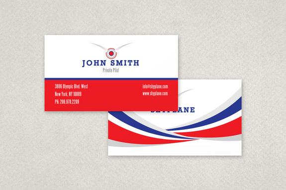 Private Pilot Business Card Template Inkd