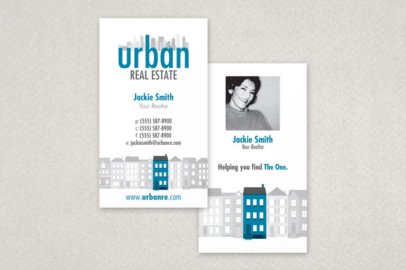 Urban real estate business card template inkd urban real estate business card template reheart Gallery