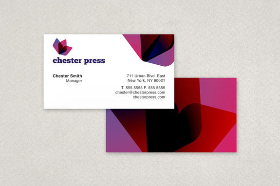 Chester press printing business card template inkd chester press printing business card template reheart Choice Image