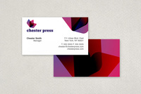 Chester Press Printing Business Card Template