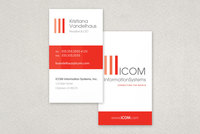 IT Consulting Business Card Template