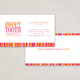 Candy Shop Business Card Template