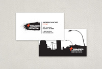 Urban Bike Shop Business Card Template