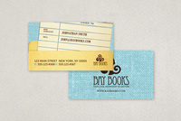 Independent Bookstore Business Card Template