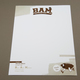 Illustrative Football Camp Letterhead Template