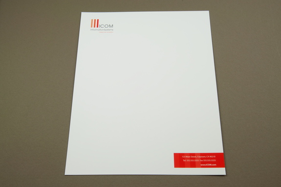 Professional IT Consulting Letterhead Template – Professional Letterhead