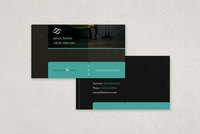 Classy Law Firm Business Card Template