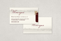 Classic Winery Business Card  Template