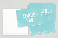 Fancy Thank You Card Template