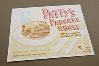 Illustrative Pancake House Flyer  Template