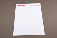 Old-Fashioned Diner Letterhead Template