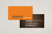 Medical Center Business Card Template