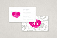 Ella Fashion Business Card Template