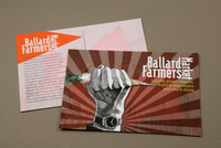 Graphic Farmers Market Postcard Template