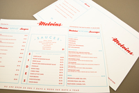 Old-Fashioned Diner Menu Template