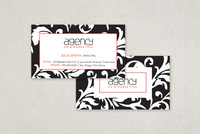 Stylish Marketing Agency Business Card Template