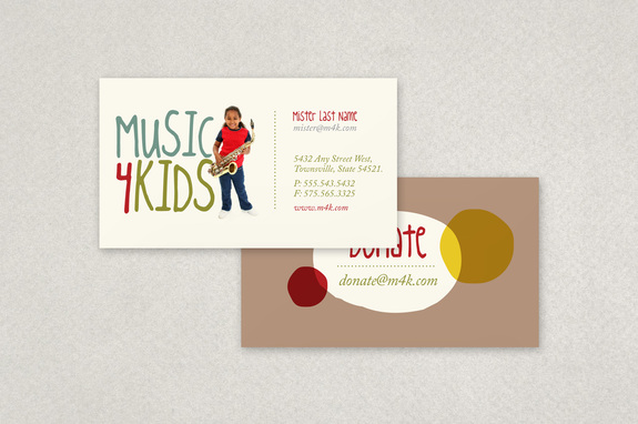 Childrens Music Business Card Template Inkd