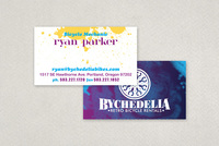 Retro Bike Rental Business Card Template