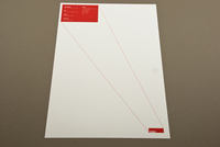 Red Minimalist Architecture Letterhead Template