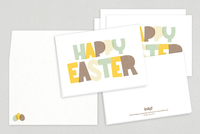 Crafty Easter Greeting Card Template