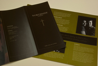 Minimalist Community Church Brochure Template