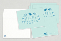 Easter Lei Greeting Card Template