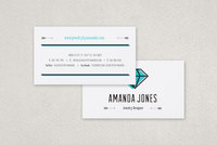 Jewelry Designer Business Card Template