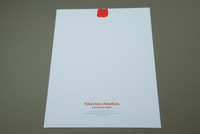 Graphic Personal Chef Letterhead Template