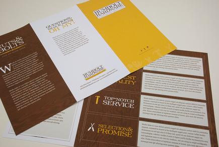 elegant brochure template - elegant hardware store brochure template inkd