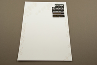 Black and Gold Architecture Letterhead Template