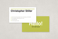 Tax Agent Business Card Template
