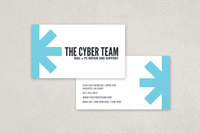 Asterisk Technology Business Card Template