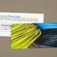 Electrician Business Card with Coiled Wires Template