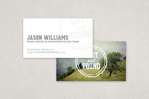 Travel blogger business card template inkd travel blogger business card template colourmoves
