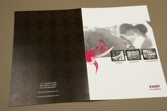 Event planning brochures images for Wedding planner brochure