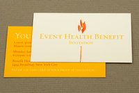 Health Organization Benefit Business Card Template