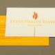 Health Organization Benefit Business Card Template